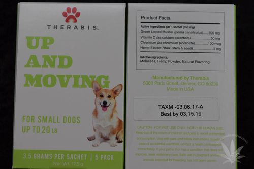 Therabis Up and Moving Small Dog (5 pack)