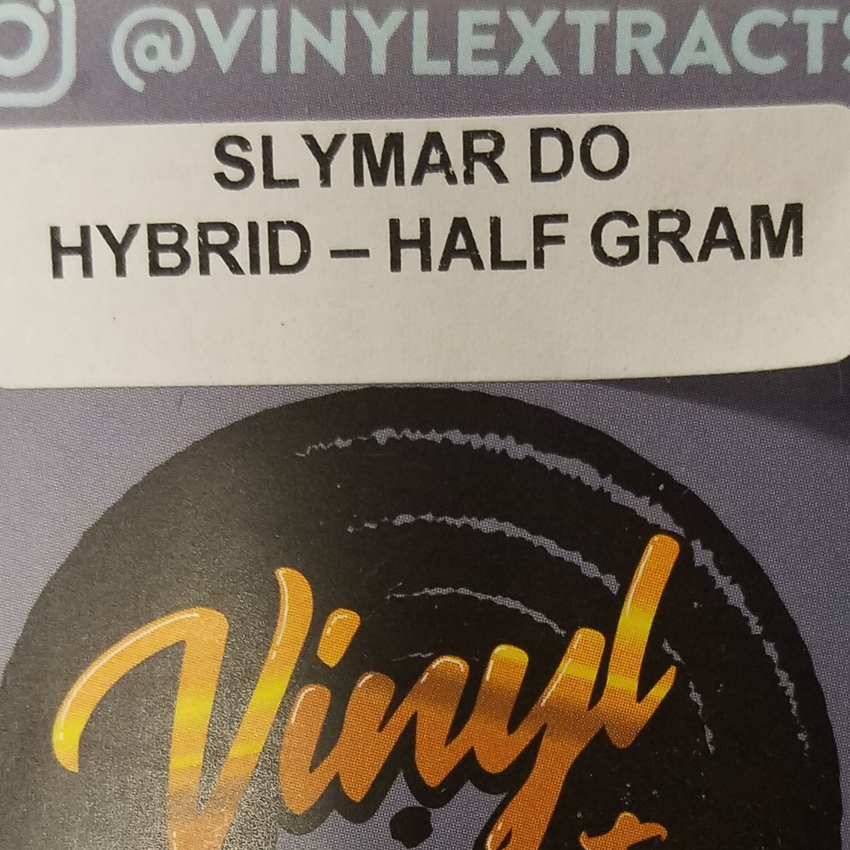 Vinyl Extracts-Slymar Do .5g Shatter (H)