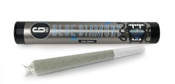 G NUGS Pre-rolls - Blue Diamond