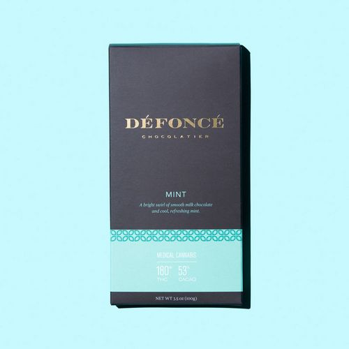 Defonce Chocolate Bar -  Mint