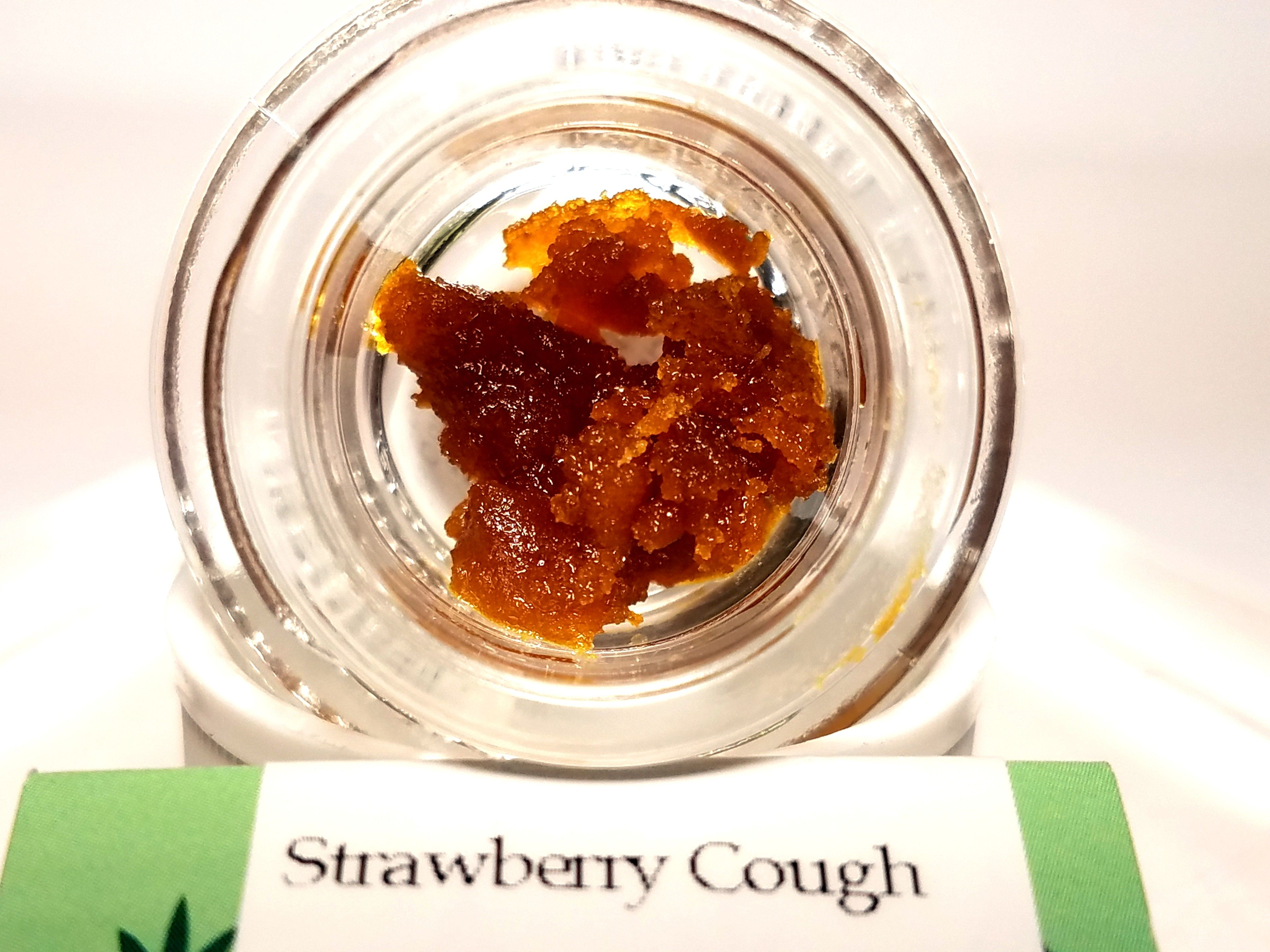 Bobsled - Strawberry Cough, Sativa, Live Resin