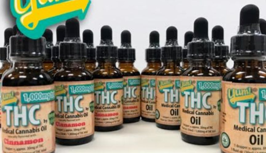 Delisious Extracts 1:1 THC/CBD 500MG Tincture