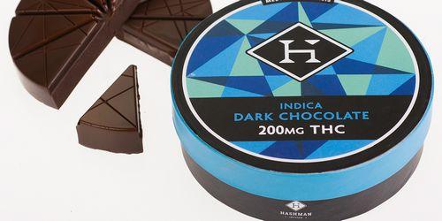 Hashman - Indica Dark Chocolate (100mg)