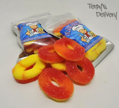 Gummy Peach Rings - El Lay Gourmet