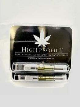 High Profile Premium Vape Cartridge - King Louie OG