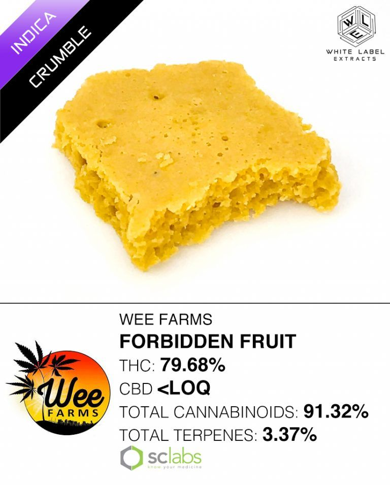WLE - Forbidden Fruit, Indica, Honeycomb