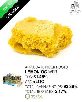 WLE - Lemon OG WPR, Hybrid, Honeycomb