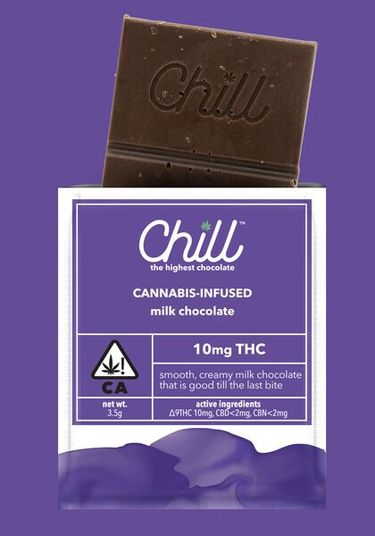 Chill Milk Chocolate Single Serving, 10mgTHC