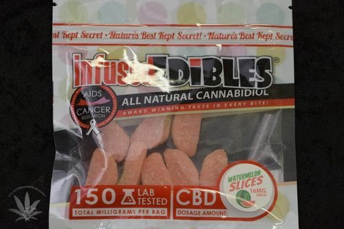 Infused Edibles CBD Watermelon Slices 150 MG