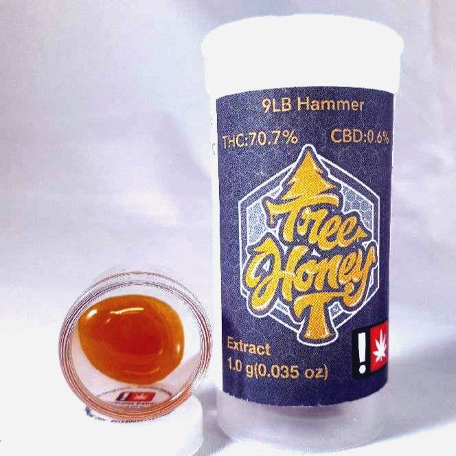 Tree Honey - 9lb Hammer, Indica, Shatter