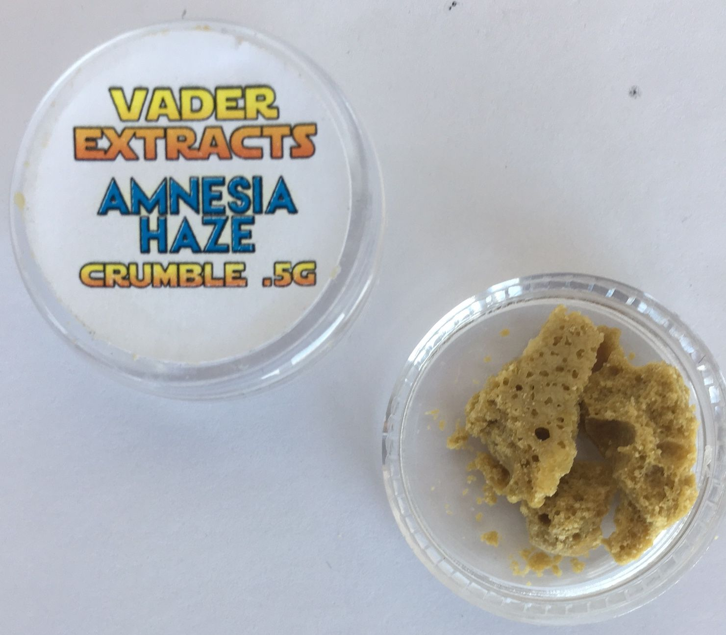 Vader Extracts - Amnesia Haze Crumble