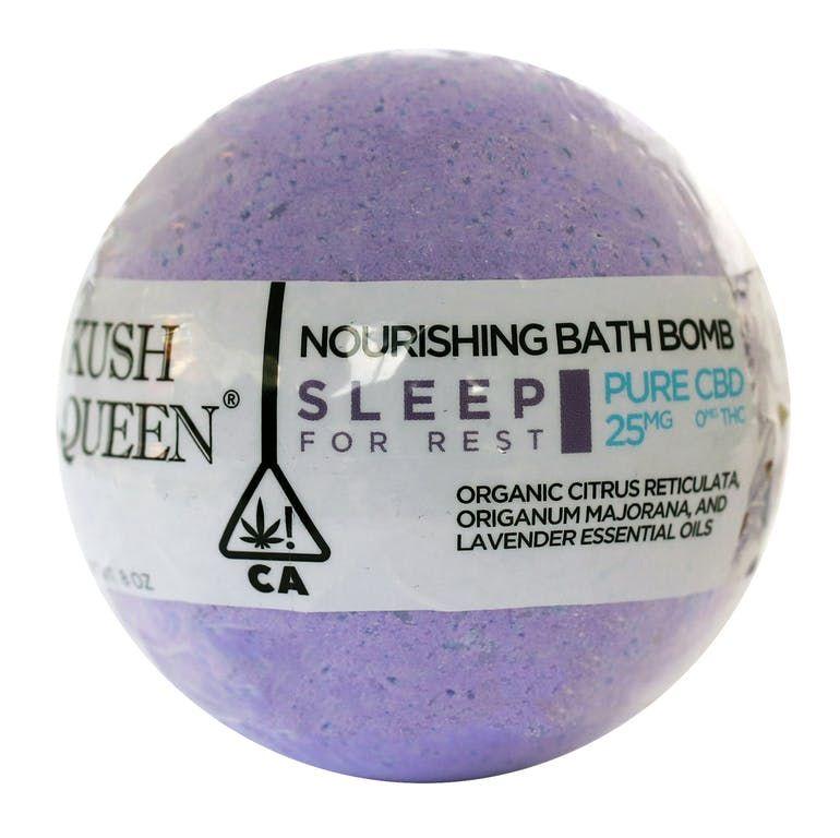 Sleep Rest Bath Bomb Pure CBD 25mg