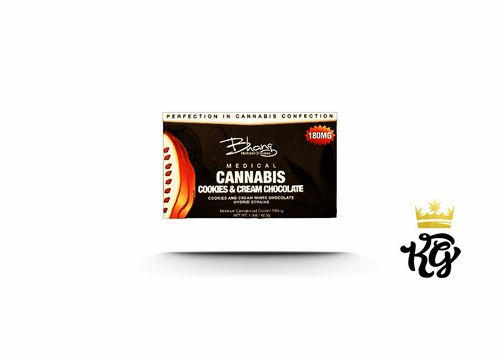 Bhang Cookies & Cream Chocolate Bar