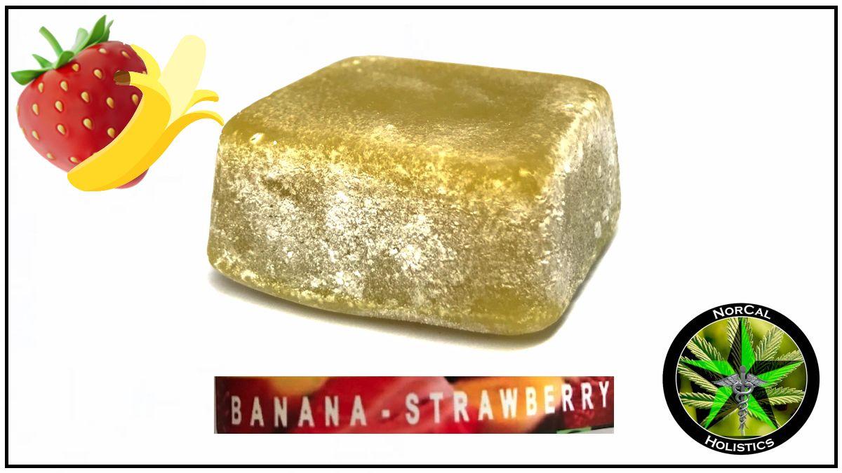 -Gummy Square-100mg coconut oil (white label)