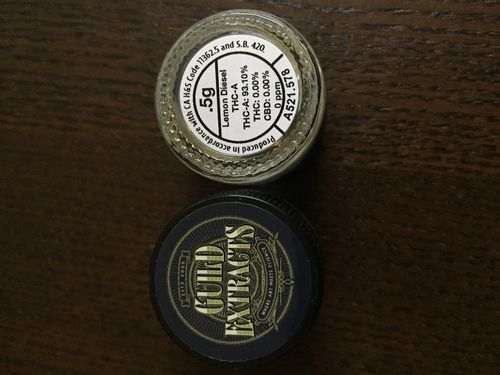 Guild Extract Lemon Diesel THC-A Powder 93.1%THC!!!