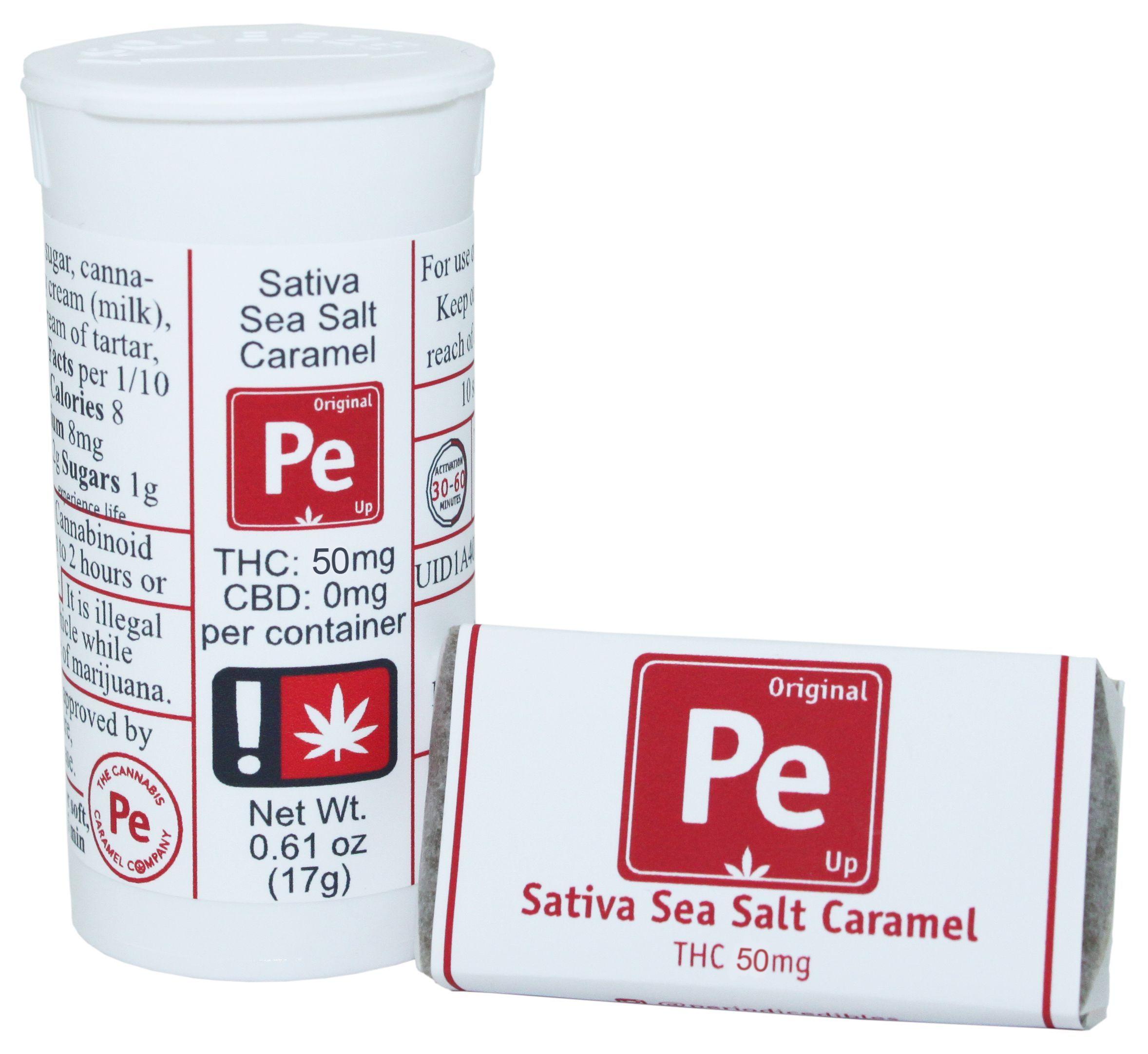 Periodic Edibles, Sativa Sea Salt Caramel, Was $14