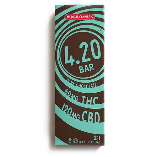 180mg The Venice Cookie Co. 2:1 CBD Dark Chocolate bar