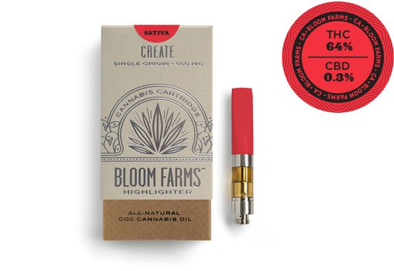 Bloom Farms Cartridge Jack Herer Sativa $35
