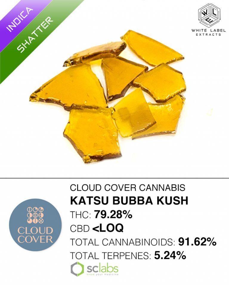 WLE - Katsu Bubba Kush, Indica, Shatter