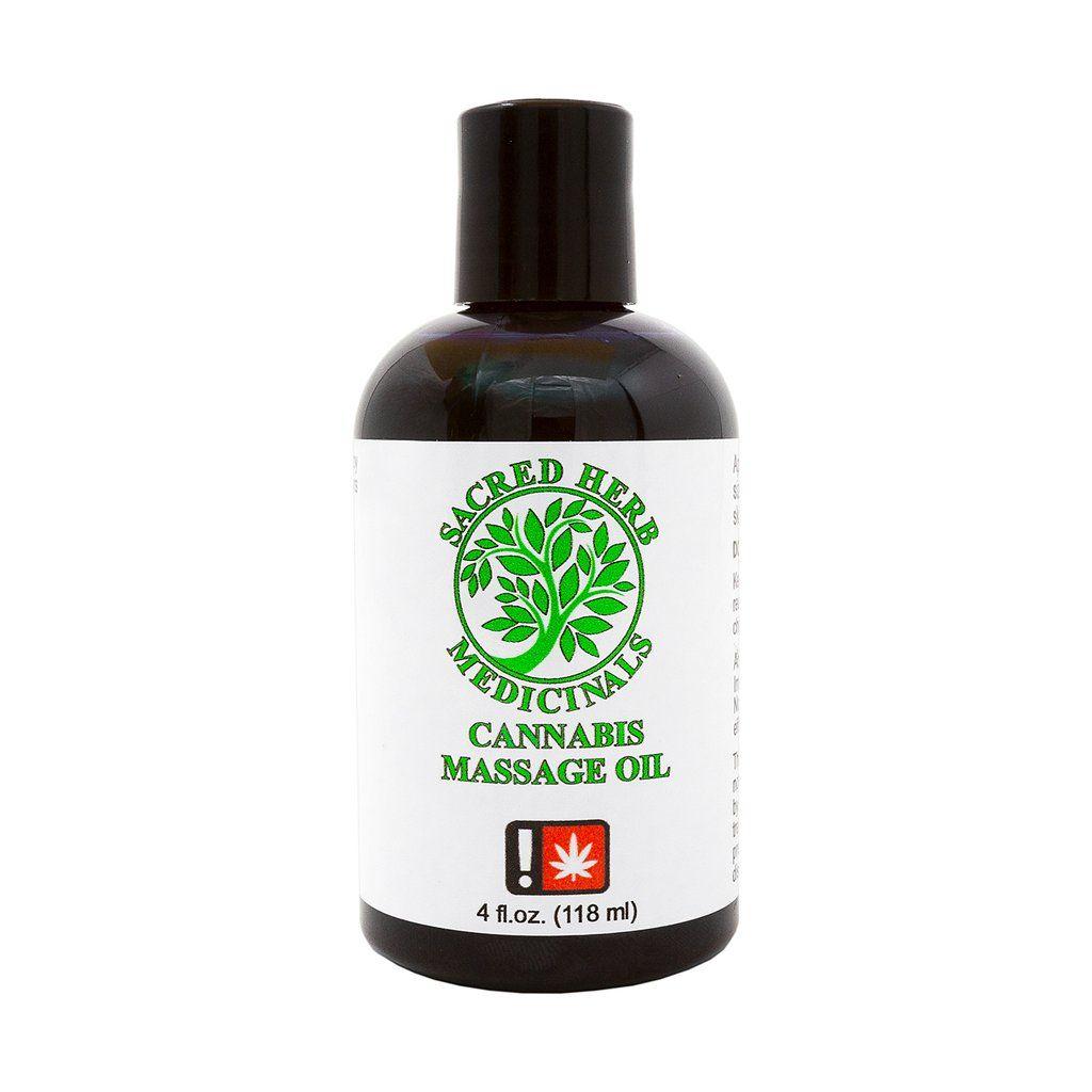 Sacred Herb - THC Massage Oil 4oz