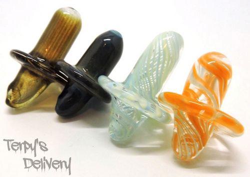 Pacifier Cap - Augy Glass