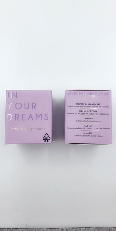 High Gorgeous In Your Dreams Potion - 100mg THC & CBD