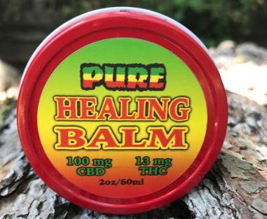 Pure Healing Balm - 2 oz. Cinnamon Frankincense
