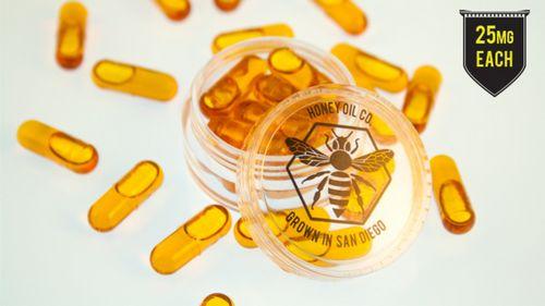 25mg THC capsules (10 pack)
