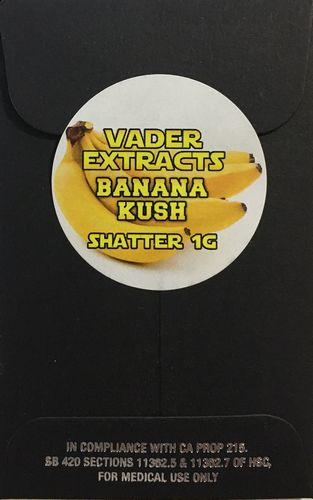 Vader Extracts - Banana Kush Shatter