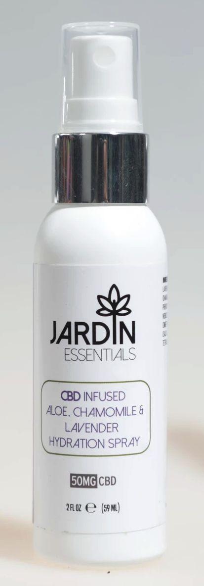 Aloe & Lavender Spray 50MG CBD- Jardin Essentials