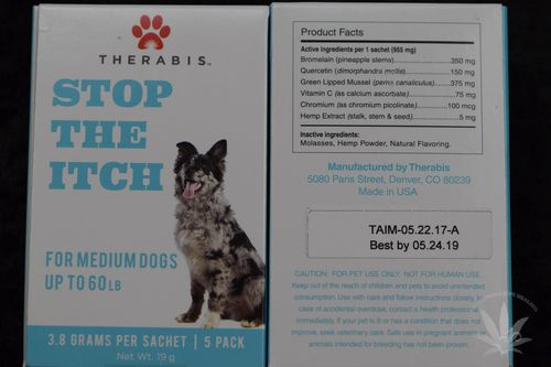 Therabis Stop The Itch Medium Dog (5 pack)