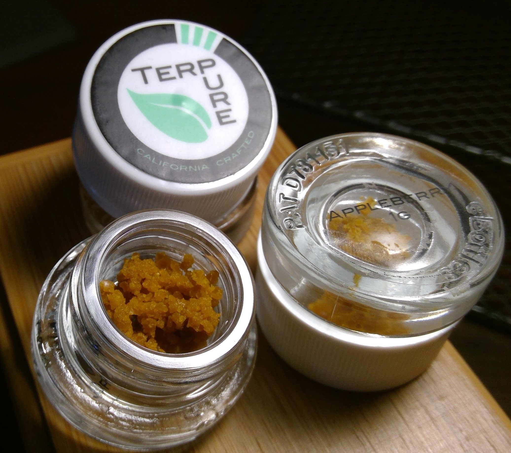 Appleberry PR Crumble 1g. (Indica) by Terpure