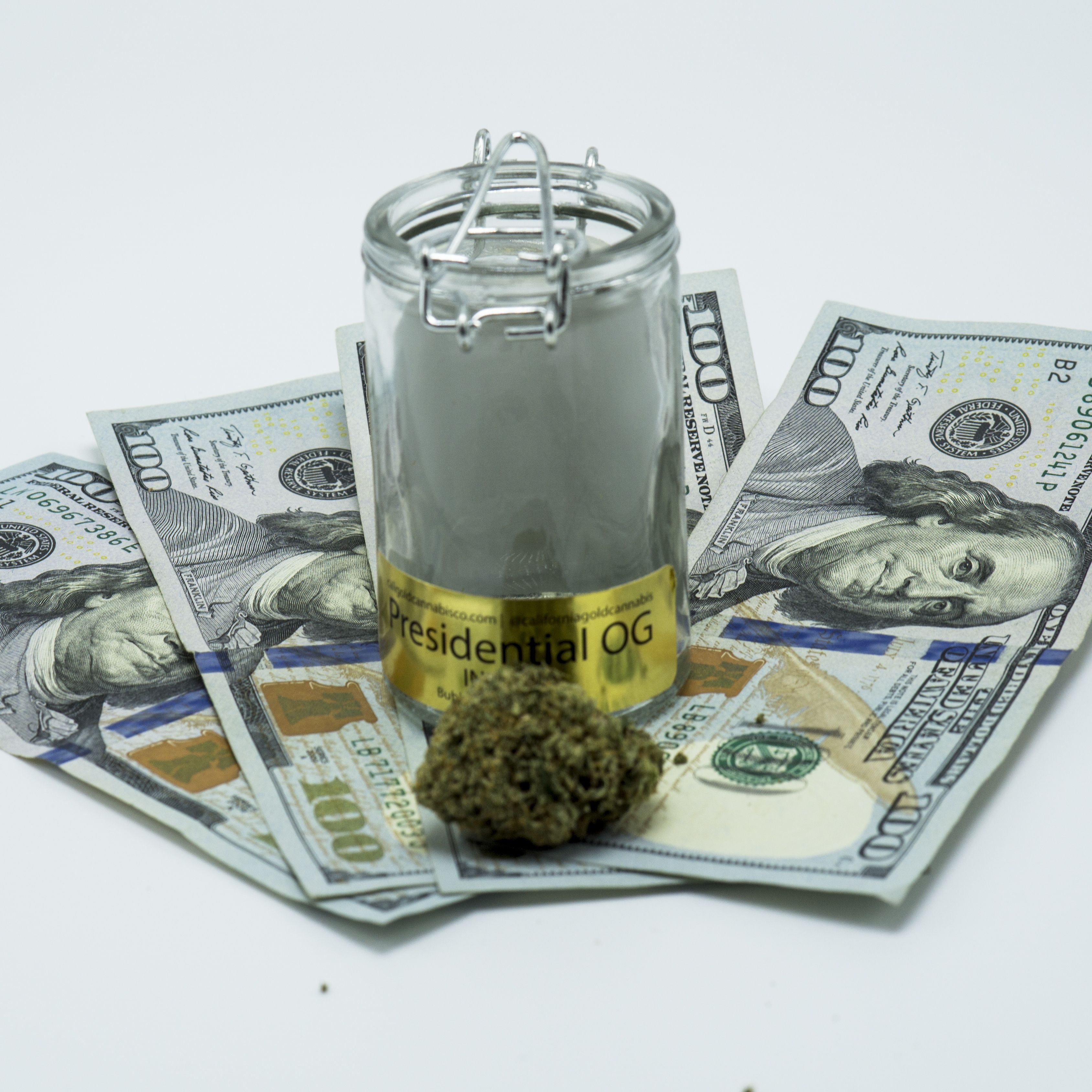 California Gold Cannabis Co. Presidential OG
