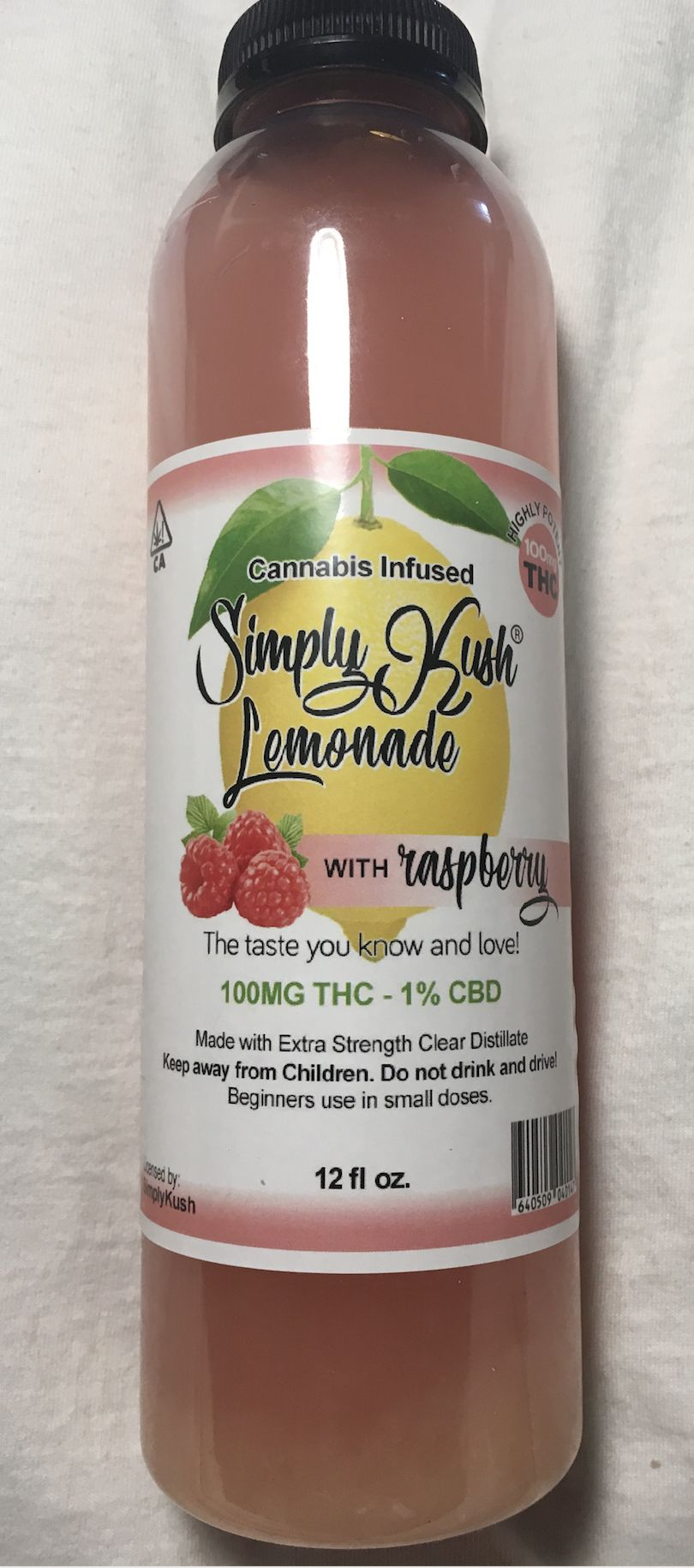 Simply Kush Raspberry Lemonade 100 mg