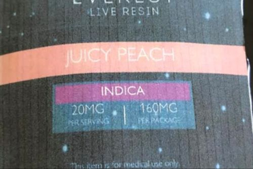 Everest-LIVE RESIN- Juicy peaches 160mg