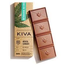 Kiva Mint Irish Cream Milk Chocolate Bar $23