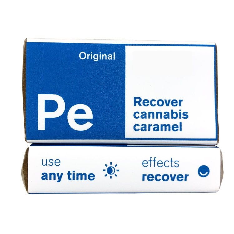 Periodic Edibles - Recover CBD Sea Salt Caramel