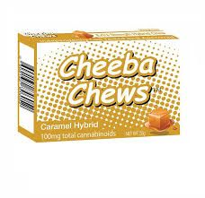 100MG Cheeba Chew Hybrid Caramel Chew