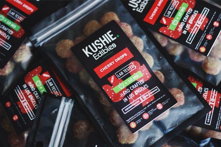 320MG Kushie Brand Cherry Drops