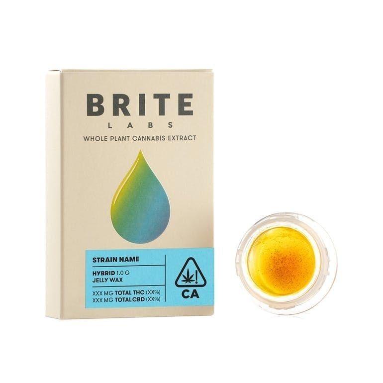 Brite Labs CO2 Jelly Wax 1g Lemon Cake $35