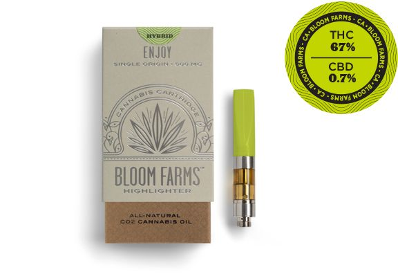 Bloom Farms Cartridge Sunset Sherbert Hybrid $35