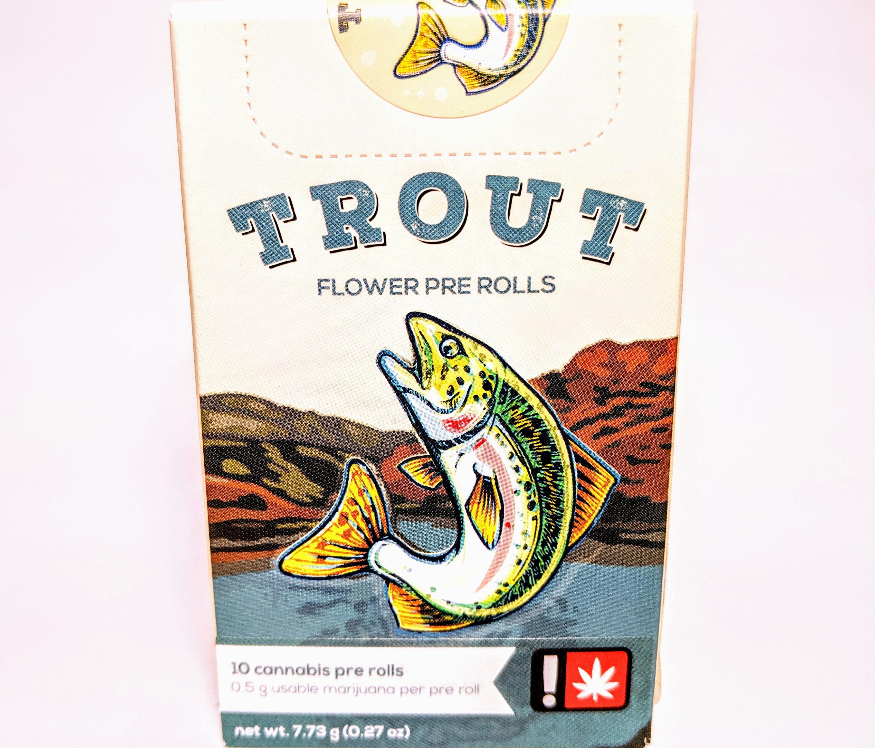 Trout - Rainbow Kush, Hybrid, 10 Pack