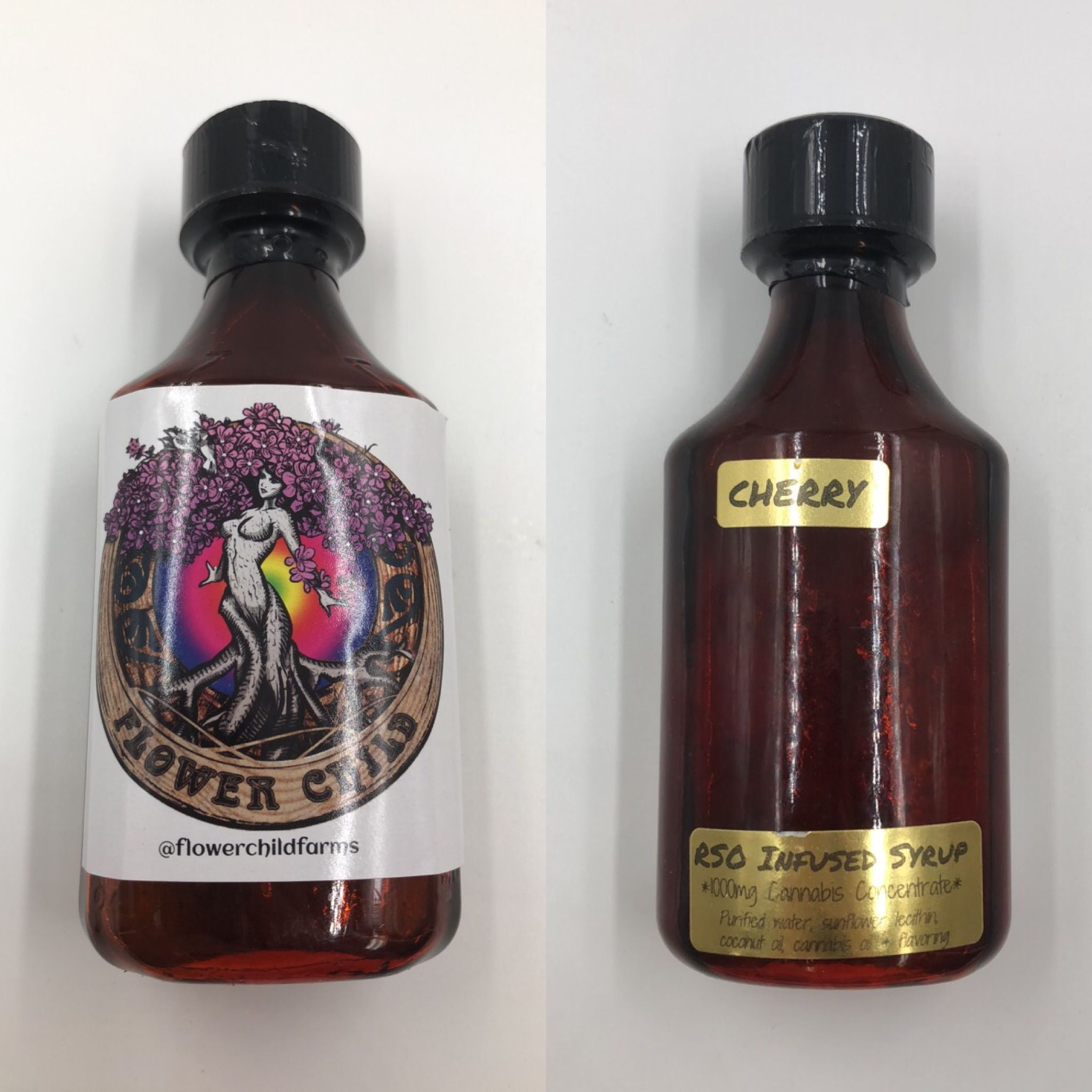 Cherry THC Syrup (FlowerChild Farms)