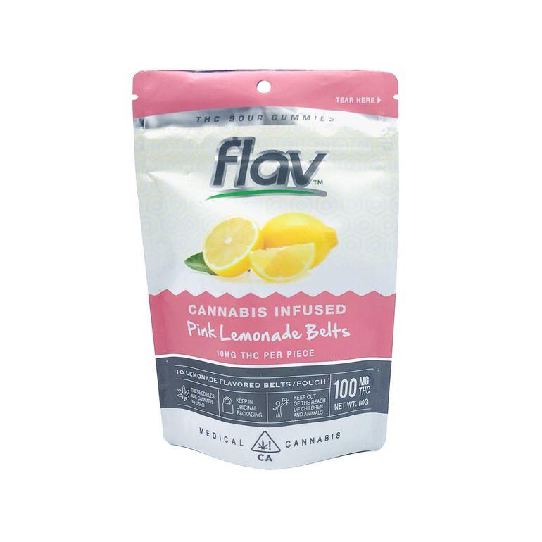 250mg Flavrx THC Pink Lemonade Belts