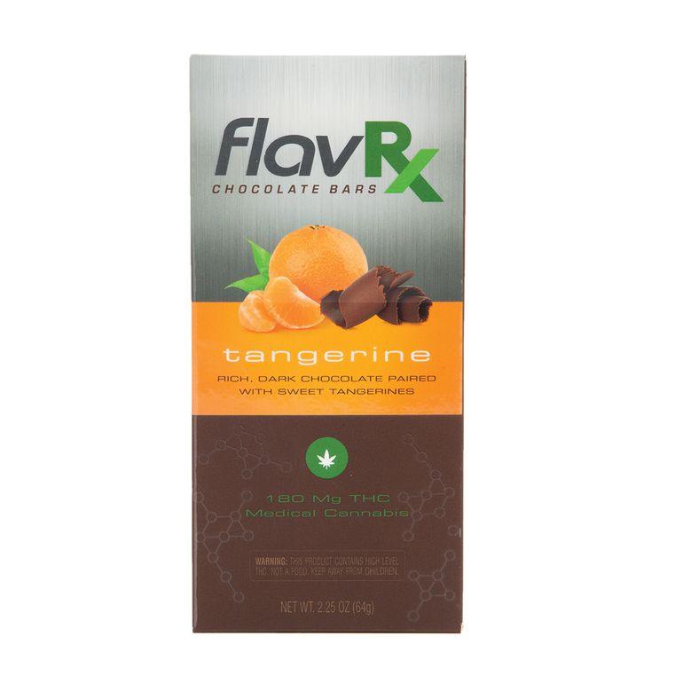 180MG FlavRX Tangerine Chocolate Bar