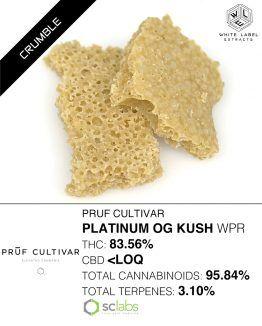WLE - Platinum OG Kush WPR Honeycomb