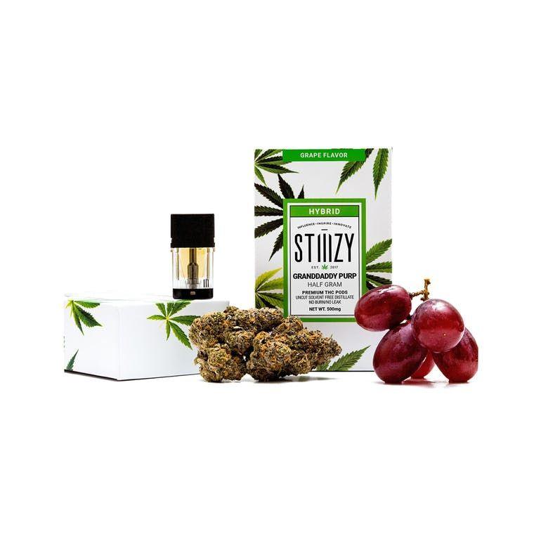 Granddaddy Purp - Grape Flavor Premium THC POD