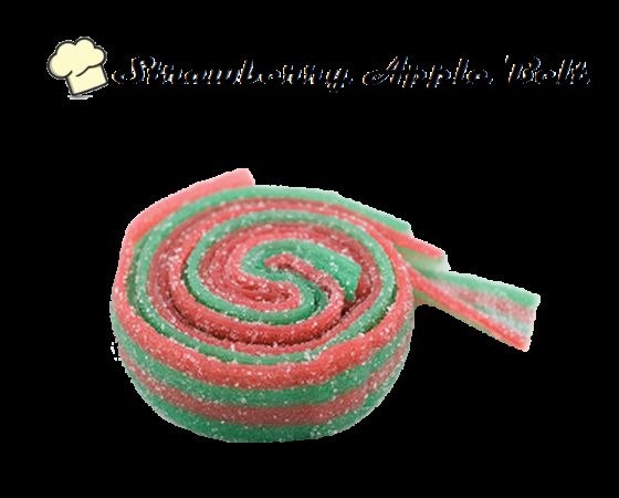 Infused Creations - Strawberry Apple Sour Belts, 300mg(Sativa)