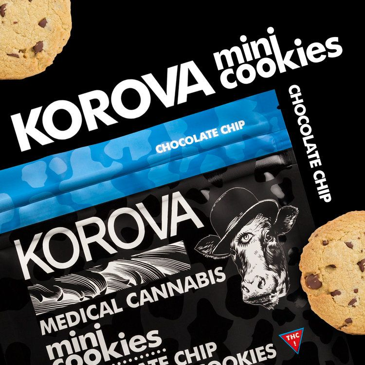 Korova Chocolate Chip Minis $23