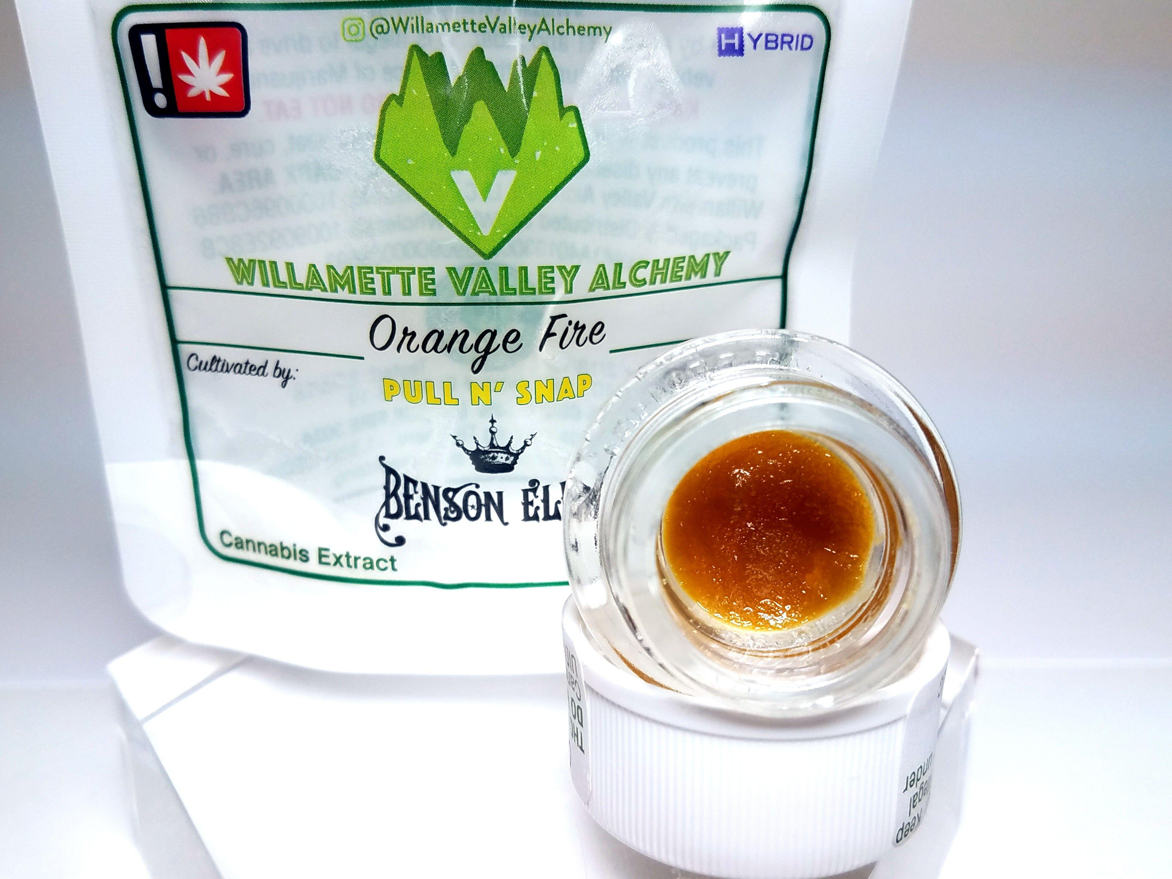 WVA - Orange Fire, Hybrid, Sugar Sauce